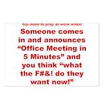 Prayer 2 Postcards (Package of 8)