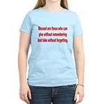 Blessed are those Women's Light T-Shirt
