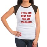 If You Can Read This Women's Cap Sleeve T-Shirt