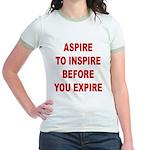 Aspire Inspire Expire Jr. Ringer T-Shirt