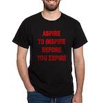 Aspire Inspire Expire Dark T-Shirt