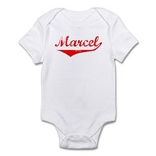 Marcel Vintage (Red) Infant Bodysuit