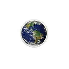 Planet Earth Mini Button