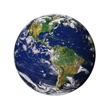 "Planet Earth 3.5"" Button (100 pack)"