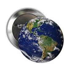 "Planet Earth 2.25"" Button (10 pack)"