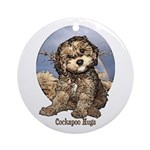 Starlo's Sugar 'n' Spice Cockapoo Hugs Ornament (R