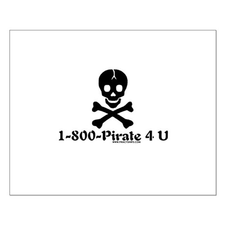 1 800 Pirate 4 U Small Poster