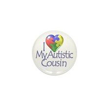 My Autistic Cousin Mini Button (10 pack)