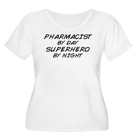 Pharmacist Day Superhero Night Women's Plus Size S