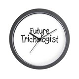 Future Trichologist Wall Clock