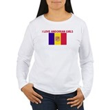 I LOVE ANDORRAN GIRLS T-Shirt