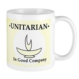 """Unitarian In Good Company"" Small Mugs"