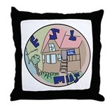 The ESL Building Throw Pillow