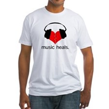 music heals Men's t-shirt (white)