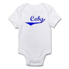 Coby Vintage (Blue) Infant Bodysuit