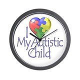 My Autistic Child Wall Clock