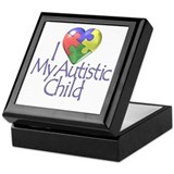 My Autistic Child Keepsake Box