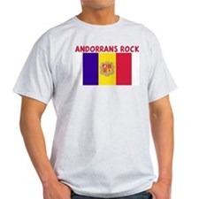 ANDORRANS ROCK T-Shirt