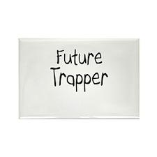 Future Trapper Rectangle Magnet