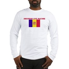 ANDORRAN LOVE MACHINE Long Sleeve T-Shirt
