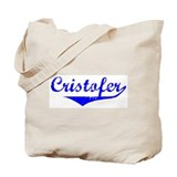 Cristofer Vintage (Blue) Tote Bag