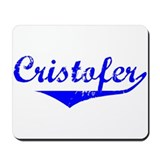 Cristofer Vintage (Blue) Mousepad