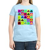 Pop Art Cyclist T-Shirt