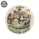 "Carol's Cristmas Carol 3.5"" Button (10 pack)"