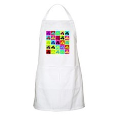 Pop Art Cyclist BBQ Apron