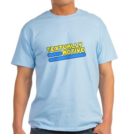 Textually Active Light T-Shirt