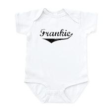 Frankie Vintage (Black) Infant Bodysuit