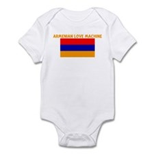 ARMENIAN LOVE MACHINE Infant Bodysuit