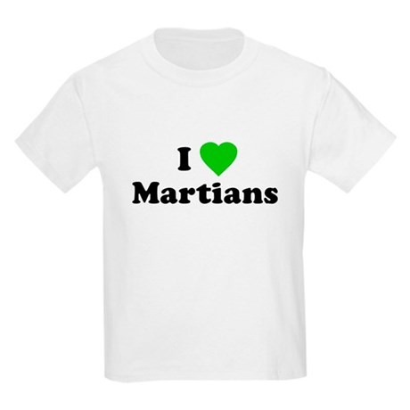 I Love Martians Kids T-Shirt