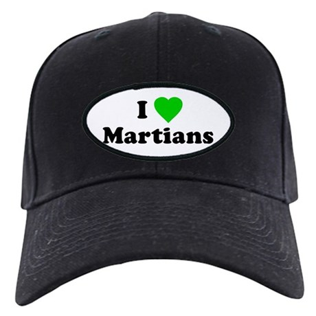 I Love Martians Black Cap