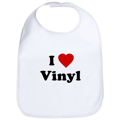 I Love Vinyl Bib