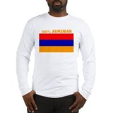 100 PERCENT ARMENIAN Long Sleeve T-Shirt