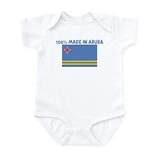 100 PERCENT MADE IN ARUBA Infant Bodysuit