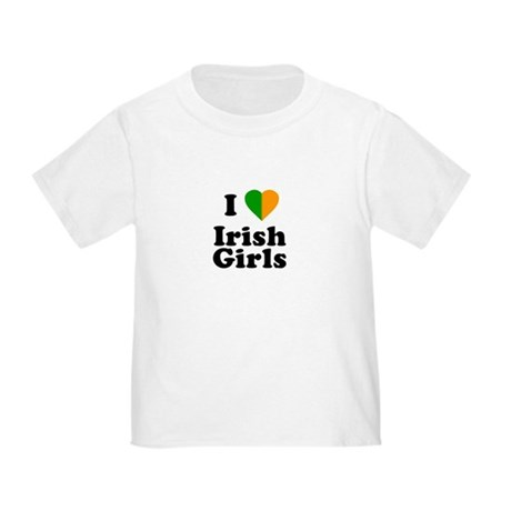 I Love Irish Girls Toddler T-Shirt