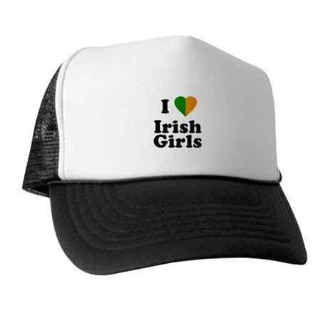 I Love Irish Girls Trucker Hat