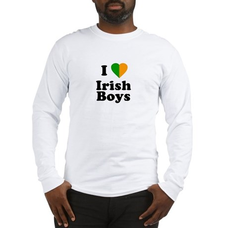 I Love Irish Boys Long Sleeve T-Shirt