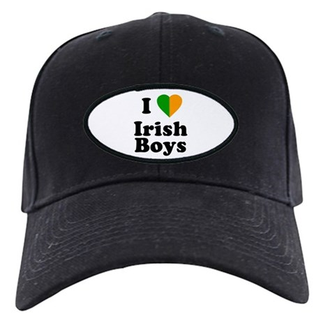 I Love Irish Boys Black Cap