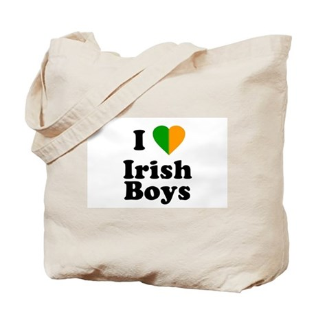 I Love Irish Boys Tote Bag