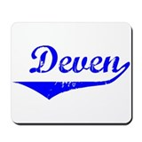 Deven Vintage (Blue) Mousepad