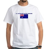 50 PERCENT AUSTRALIAN IS BETT Shirt