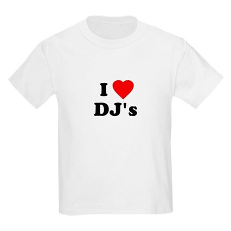 I Love DJ's Kids T-Shirt