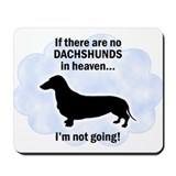 Dachshunds In Heaven Mousepad