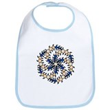 Milk Hill Tan Crop Circles Bib