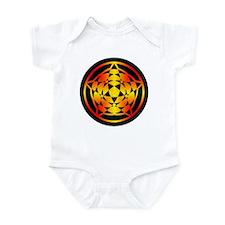 Crop Circle Star Gradient Infant Bodysuit