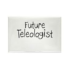 Future Teleologist Rectangle Magnet