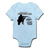 Unique Dad and step daughter Infant Bodysuit